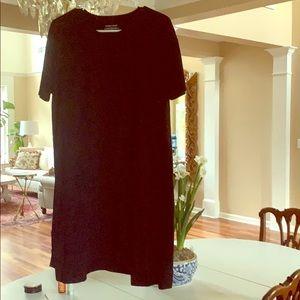 Eileen Fisher Black T Shirt Dress SP